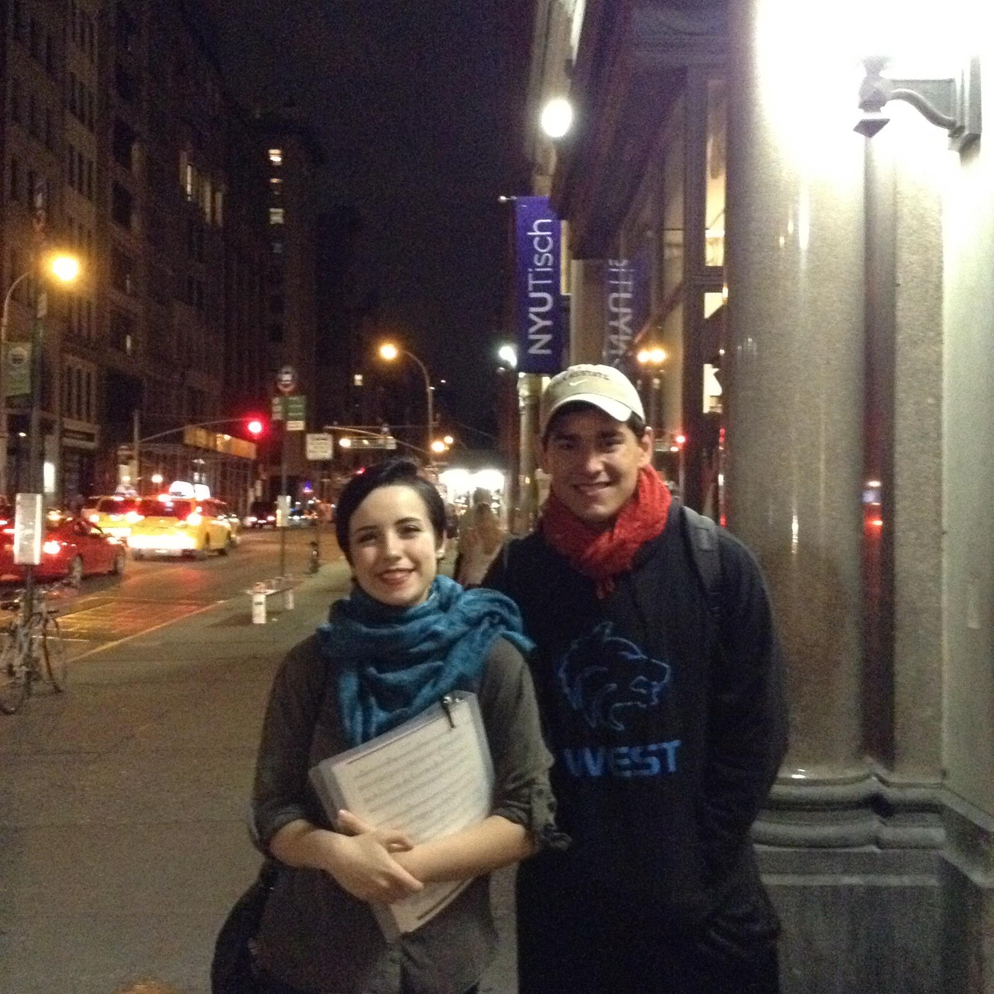 Final Night at Tisch NYU!