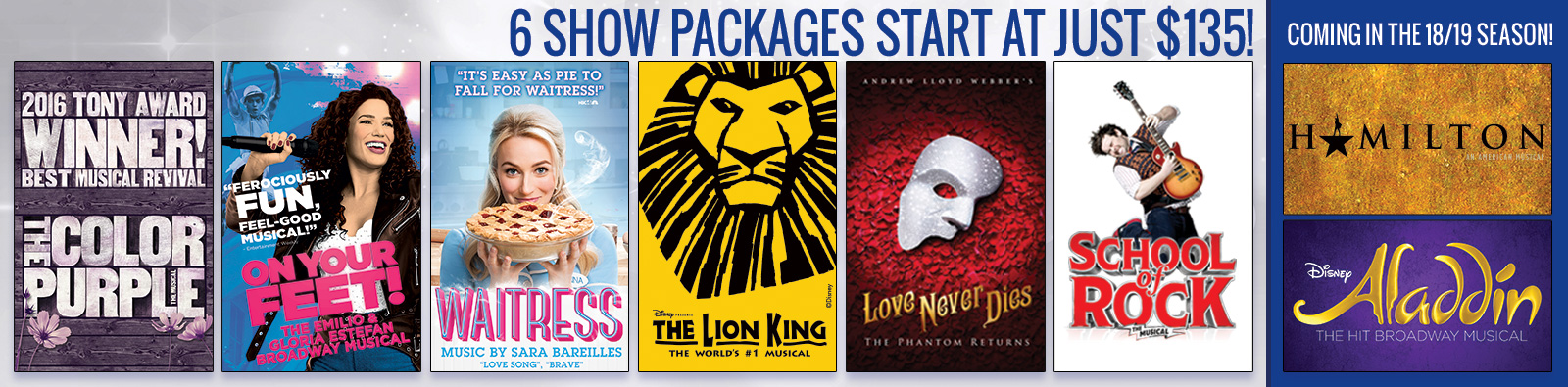 7 Show Packages start at just $150