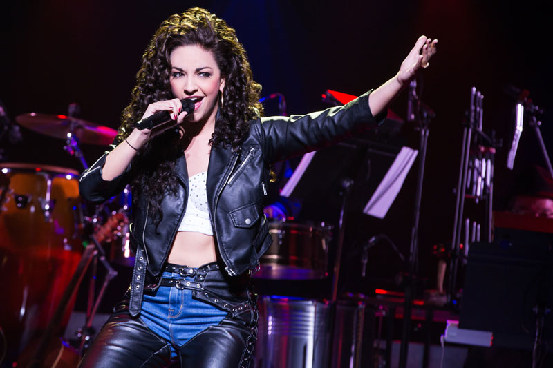 Anna Villafane as Gloria Estefan