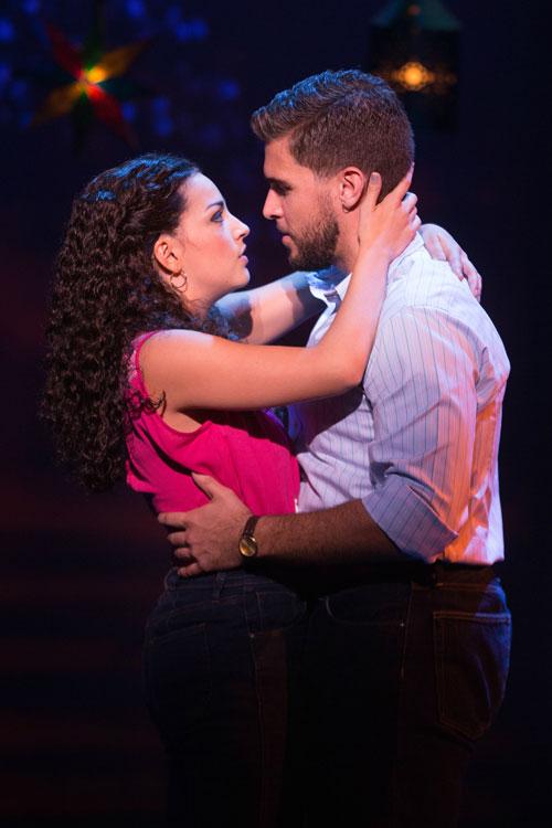 Gloria and Emilio Embrace