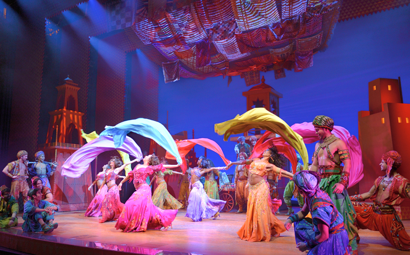 Aladdin, Coming to the Dallas Summer Musicals in the 18/19 Season!