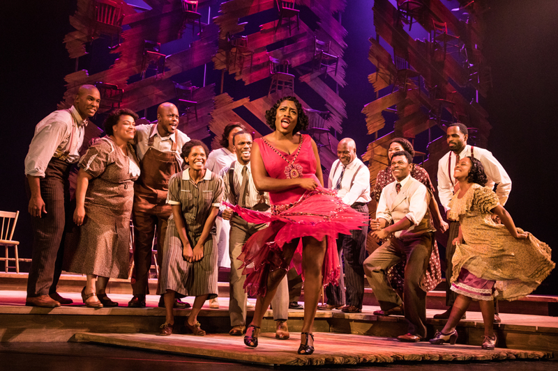 THE COLOR PURPLE is presented by Dallas Summer Musicals January 23 – February 4, 2018 at Music Hall at Fair Park.