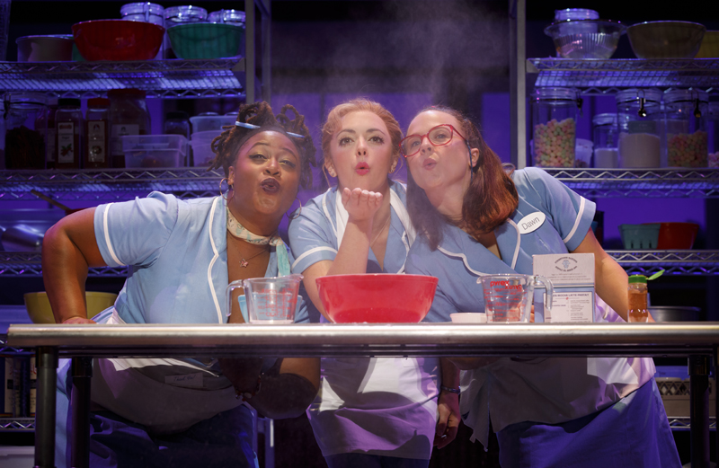 WAITRESS is presented by Dallas Summer Musicals March 28 – April 8, 2018 at Music Hall at Fair Park.