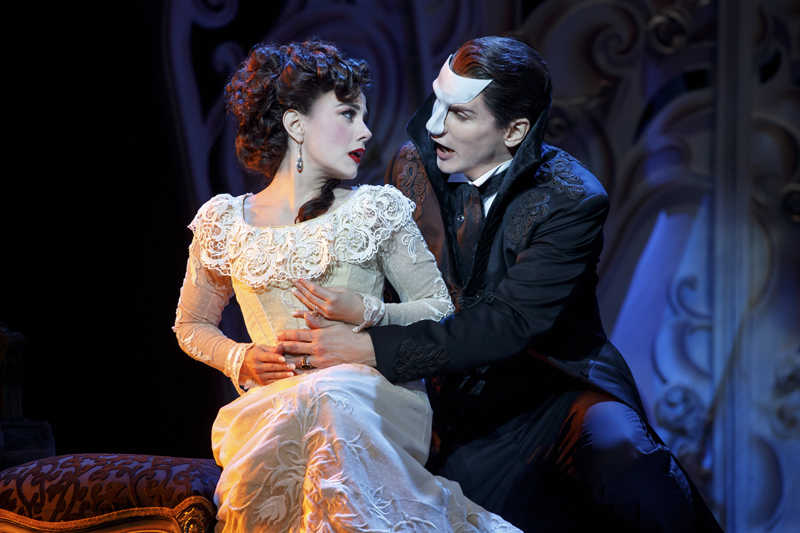 LOVE NEVER DIES, THE PHANTOM RETURNS is presented by Dallas Summer Musicals July 24 – August 5, 2018 at Music Hall at Fair Park.