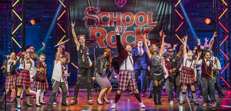 School of Rock, August 15 - 26, 2018 Dallas Summer Musicals
