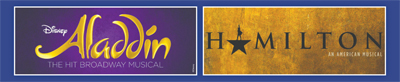 Hamilton & Aladdin Coming to Dallas Summer Musicals in 18/19!