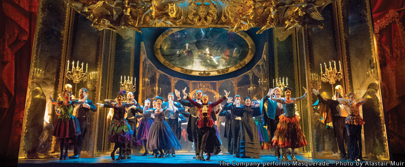 THE PHANTOM OF THE OPERAcoming to Dallas Summer Musicals December 19, 2018 – January 6, 2019at the Music Hall at Fair Park.