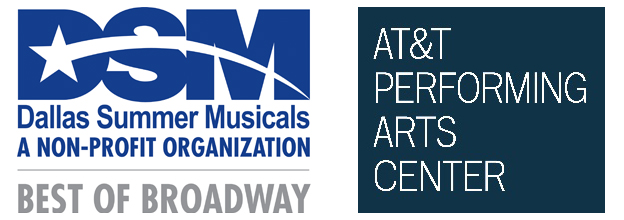 Dallas Summer Musicals Logo and AT&T Performing Arts Center Logo