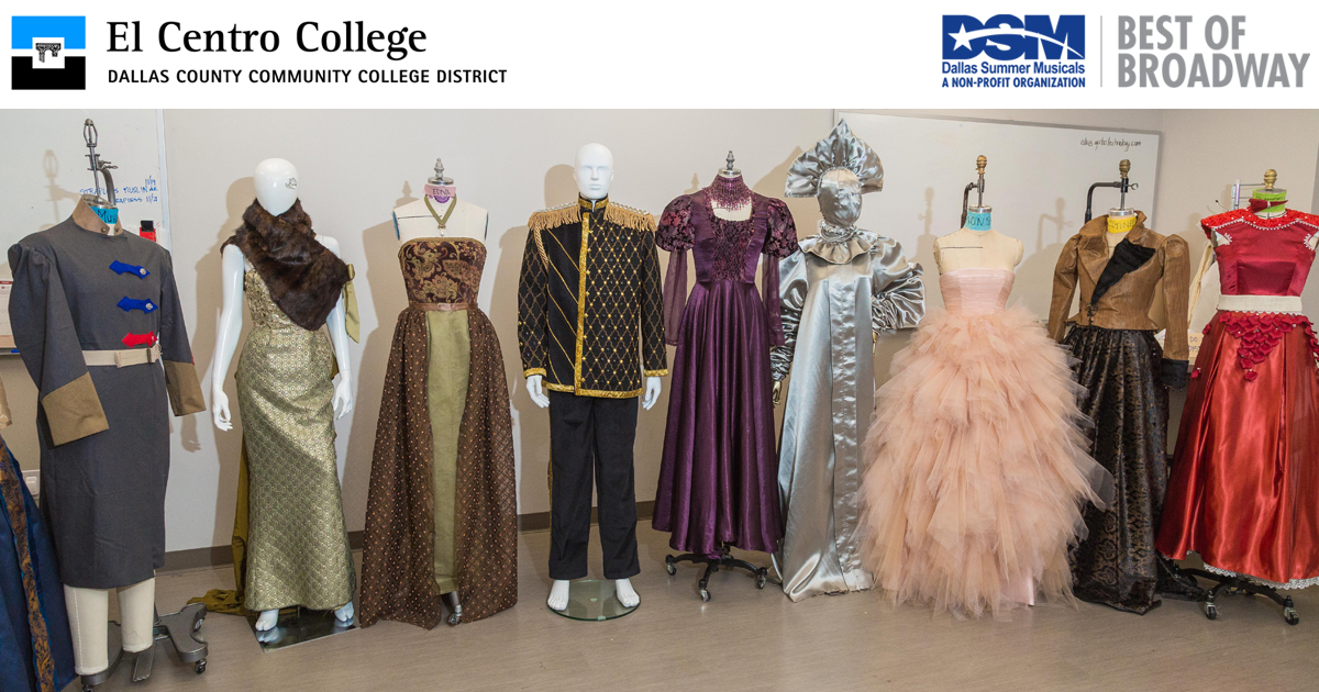 Garments Inspired by Anastasia, Designed by El Centro College Students