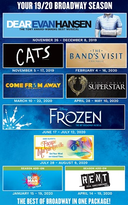 Best Of Broadway 2020 Dallas Summer Musicals Best of Broadway