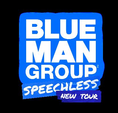 Blue Man Group Speechless Tour Logo