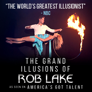 The Grand Illusions of Rob Lake
