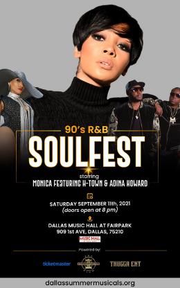 90's R&b Soulfest Starring Monica